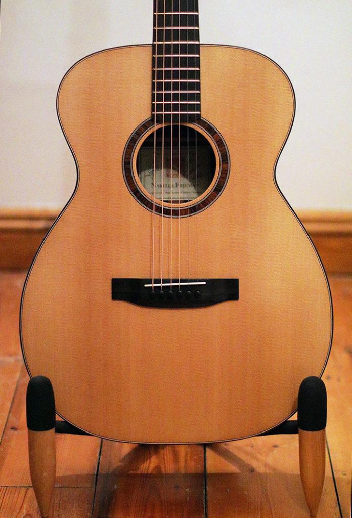 Reiver Instruments - Cocobolo OM acoustic guitar 1