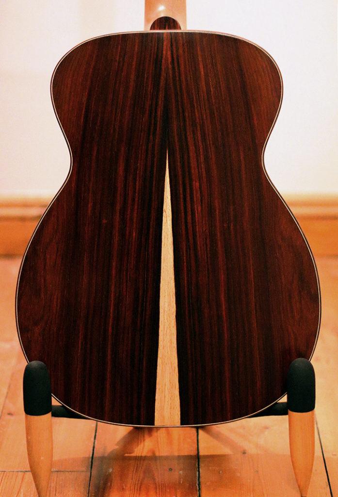 Reiver Instruments - Cocobolo OM acoustic guitar 2