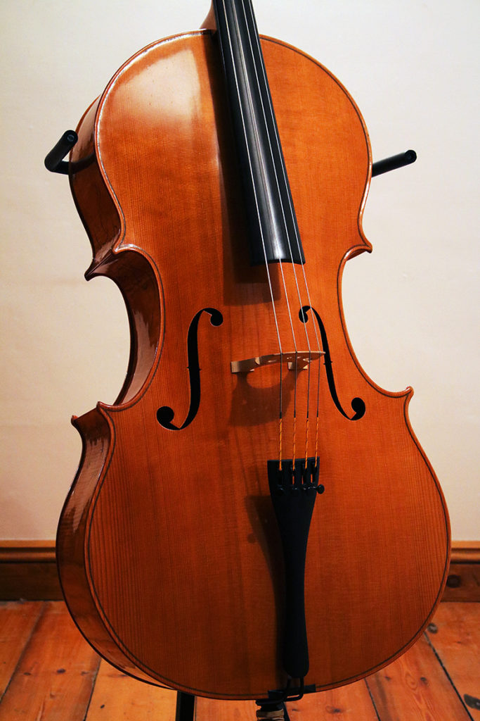 Reiver Instruments - Inlaid cello 1