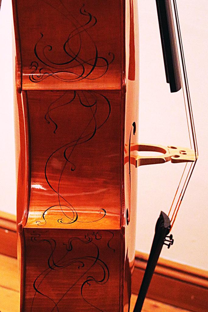 Reiver Instruments - Inlaid cello 4