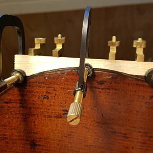 Reiver instruments - Cello restoration 2