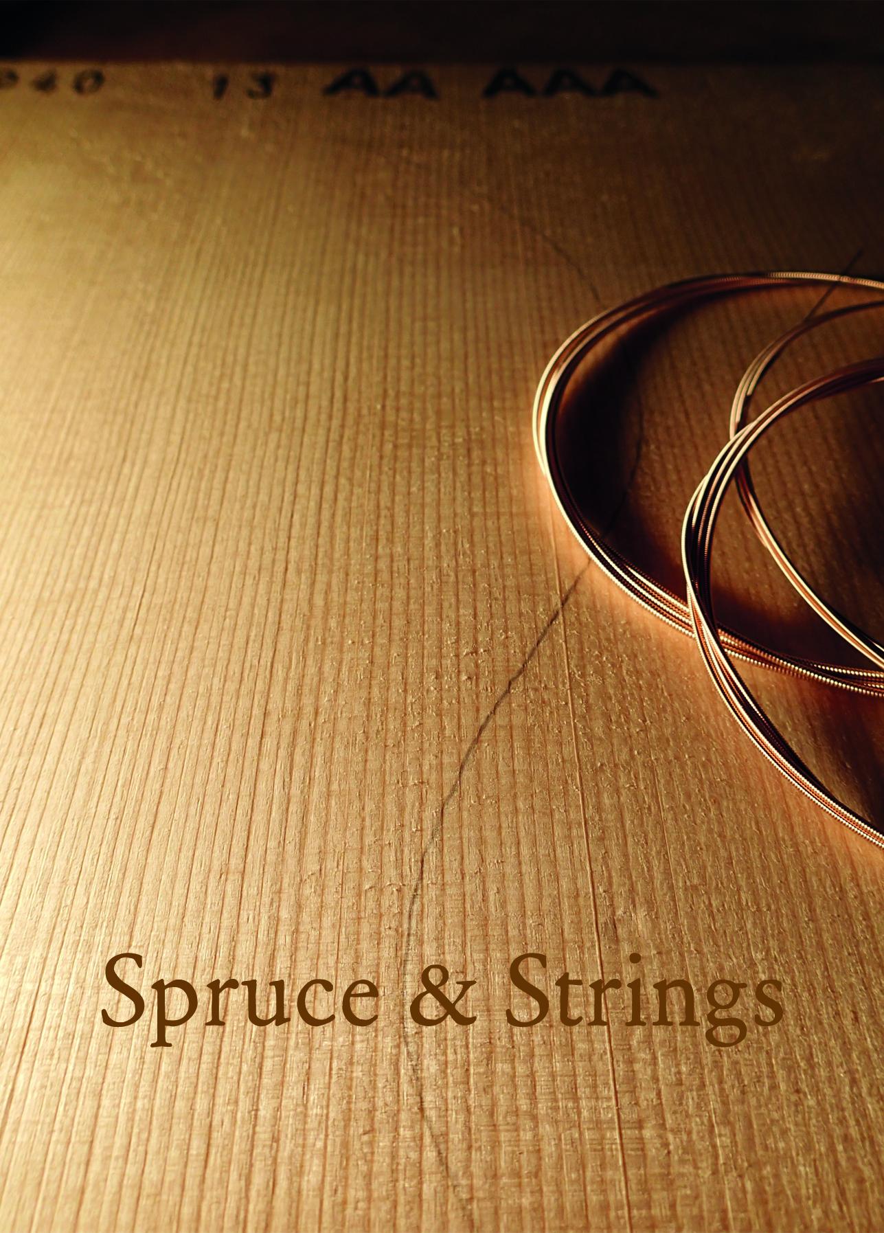 Spruce & strings A6 portrait
